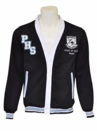 picton high school cardigan front