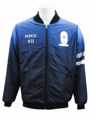 st bishoy coptic college bomber jacket front