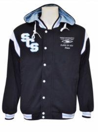 southern cross school hooded jamper front