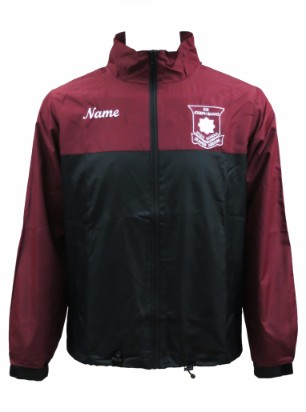 sir joseph banks high school windbreaker front