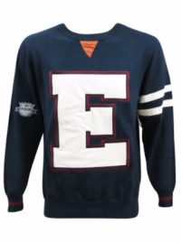 varsity sweater front