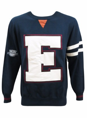 varsity sweater front