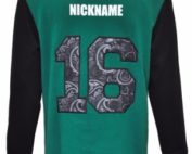 woodenbang central school jersey back
