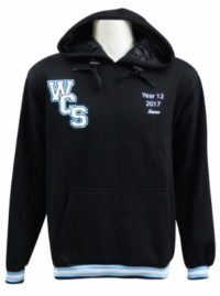 wadalba community school hooded jamper front