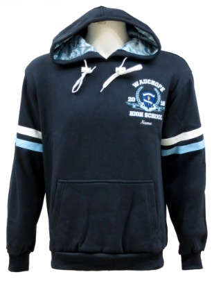 wauchope high school hooded jamper front