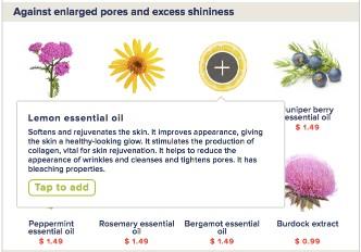 Ingredient descriptions MixNature