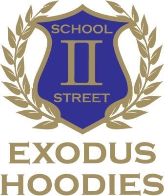 Elyse designs the first Exodus Wear logo