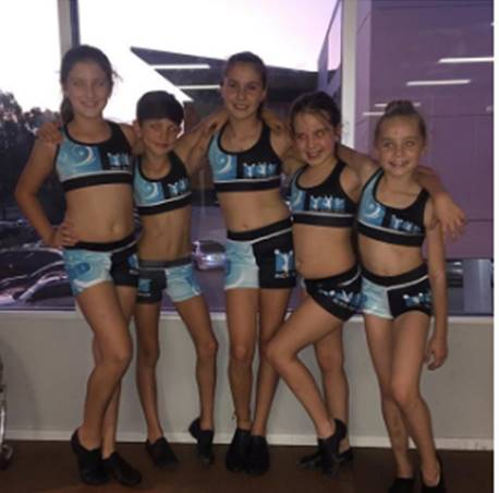 Custom Dance Uniforms Kids Sizes