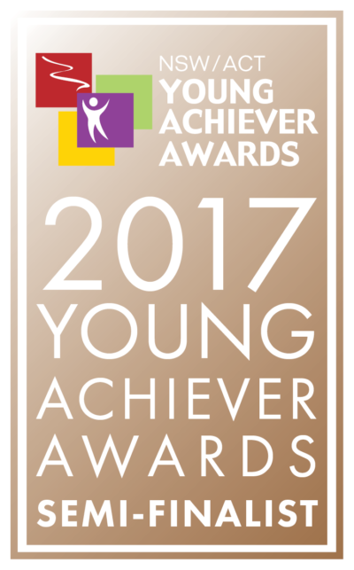 NSW Young Achievers Business Award