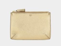 anya hindmarch gold loose pocket