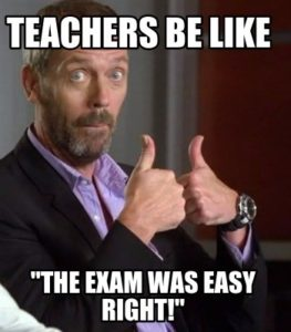 Study And Exam Funny School Memes To Leave You Laughing Exodus Wear