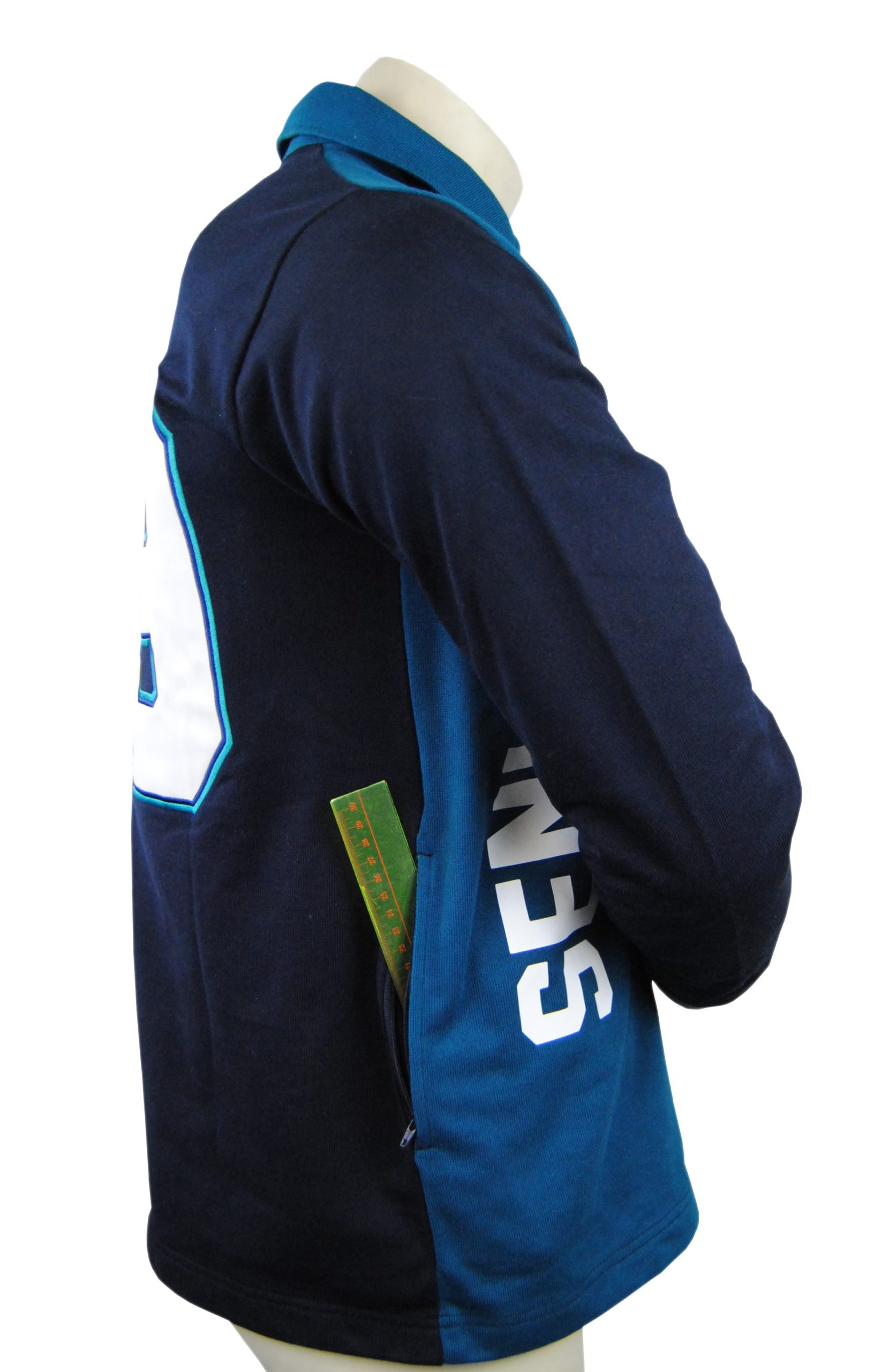 year 12 jersey with zippered pockets